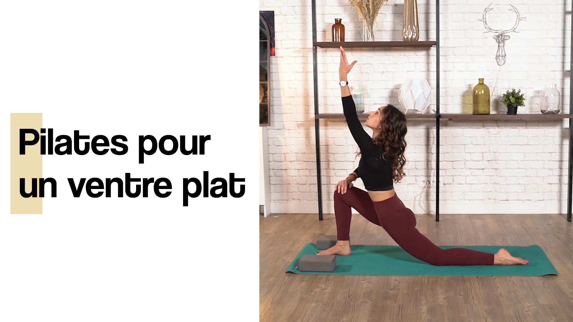 Exercices de pilates ventre plat (30 min)
