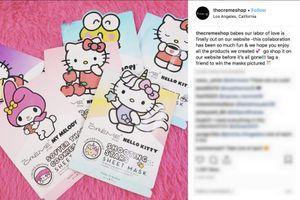 Des soins de la peau Hello Kitty
