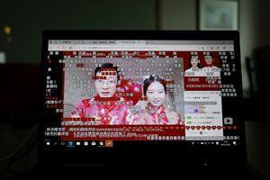 """""""Oui"""" aux temps du virus : les Chinois se marient en ligne"""