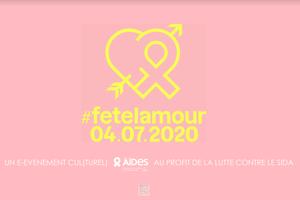 #Fetelamour : un e-événement consacré à la lutte contre le Sida