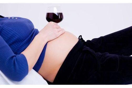 Alcool pendant la grossesse