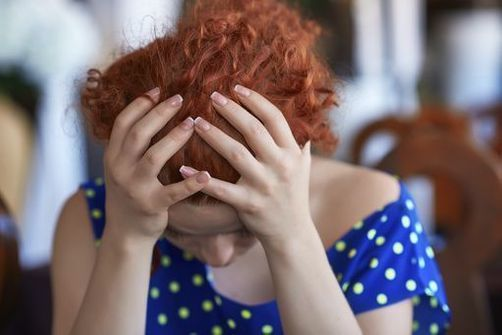 femme stress