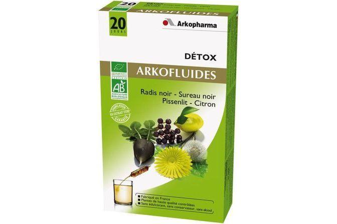 Arkofluides Bio Detox 20 ampoules Arkopharma - Avis et ...