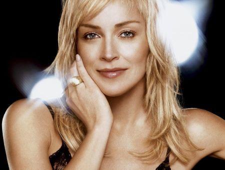 Sharon Stone, le brillant de Dior