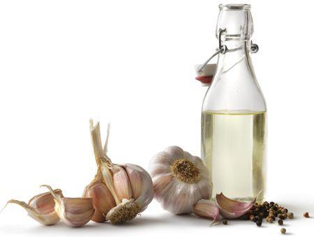 L'huile d'ail, pour le cuir chevelu et les cheveux