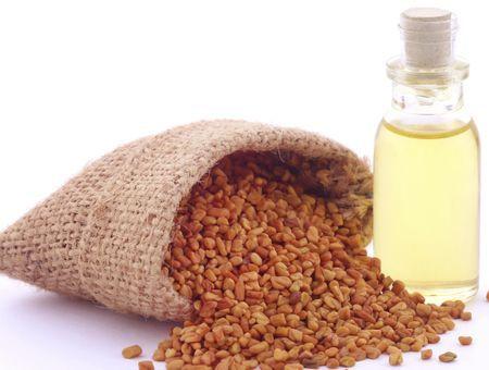 L'huile de fenugrec, pour le cuir chevelu