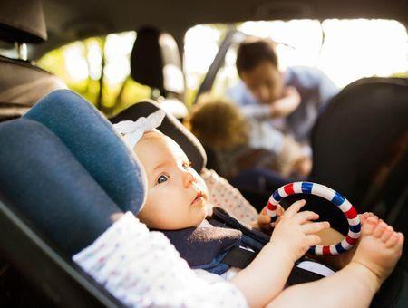 La sécurité de l'enfant en voiture