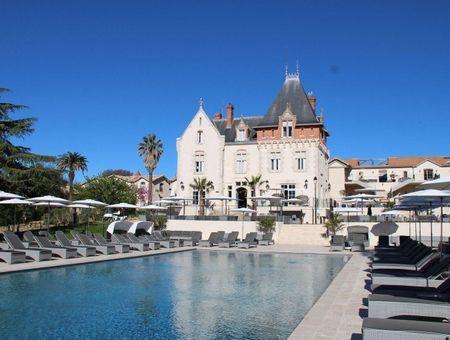 Bulle de bien-être au Spa du Château St Pierre de Serjac