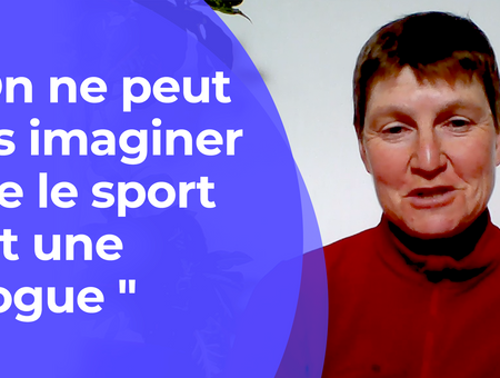 """""""On ne peut pas imaginer que le sport soit une drogue"""""""
