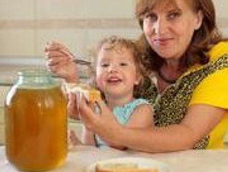 Pas de miel pour les bébés de moins d'1 an !