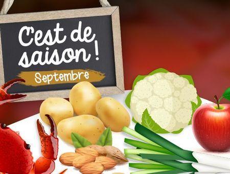 Les aliments à consommer en septembre