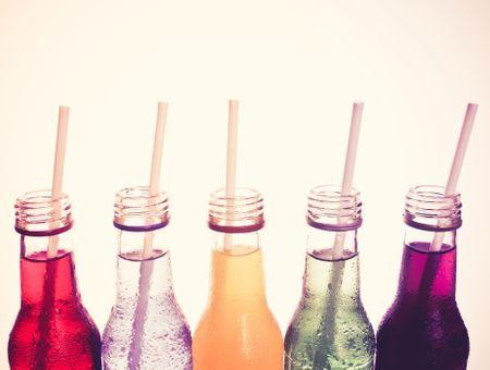 Les teneurs en sucre des différentes boissons