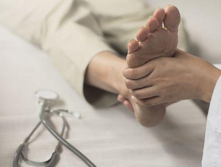 Les pieds creux