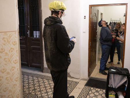 A Vienne, les livreurs à vélo à la rescousse pour combattre le virus