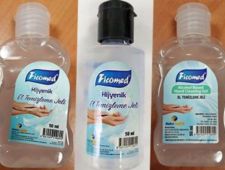 Rappel du gel hydroalcoolique FICOMED