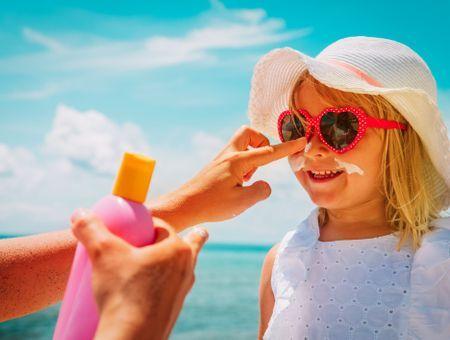 Quelle protection solaire pour mon enfant ?