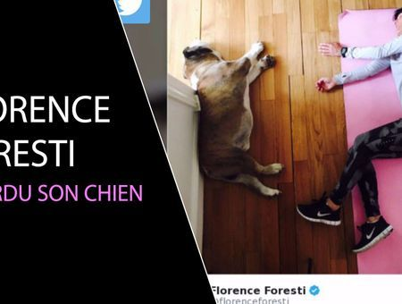 Florence Foresti a perdu son chien
