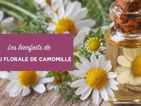 Beauté : les bienfaits de l'eau florale de camomille
