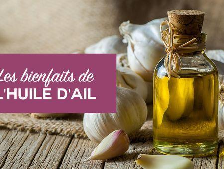 Beauté : les bienfaits de l'huile d'ail