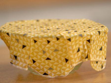 DIY – Bee wrap avec de la cire d'abeille