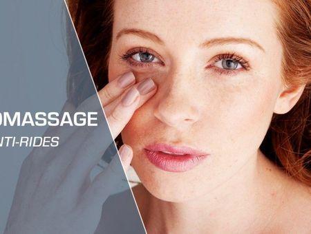 Auto-massage du visage pour un effet anti-âge