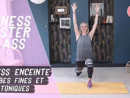 Jambes fines et toniques  (20 min) – Fitness pendant la grossesse