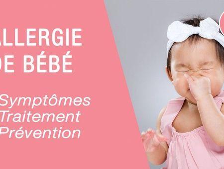Comment reconnaître une allergie chez bébé ?