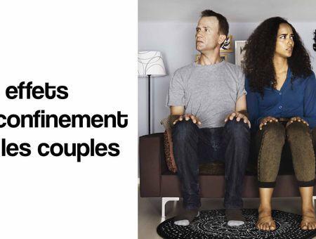 Quel est l'effet du confinement sur le couple ?