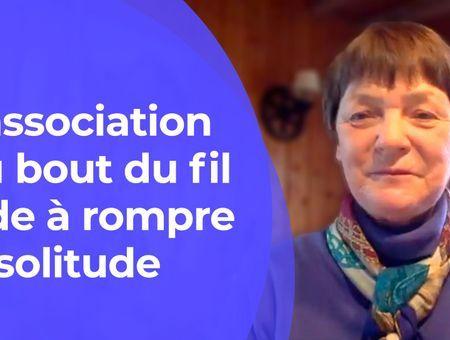 Au bout du fil lutte contre la solitude des personnes âgées #LeMotdeLAsso