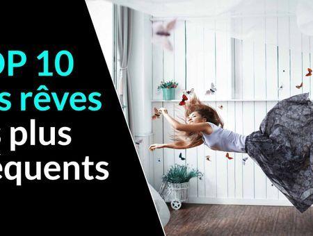 Top 10 des rêves les plus fréquents