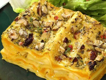 Lasagnes au butternut et Carré Frais Ail & Fines Herbes