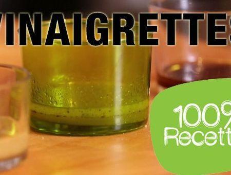 Recettes de vinaigrettes faciles