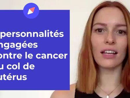 """""""Stars à nu"""" : elles s'engagent contre le cancer du col de l'utérus"""