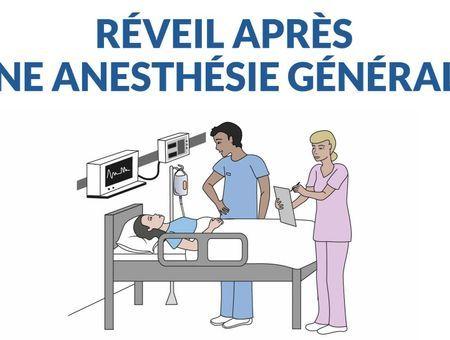 Comment se passe le réveil d'une anesthésie générale ?