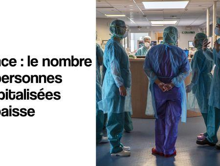 France : le nombre de personnes hospitalisées en baisse