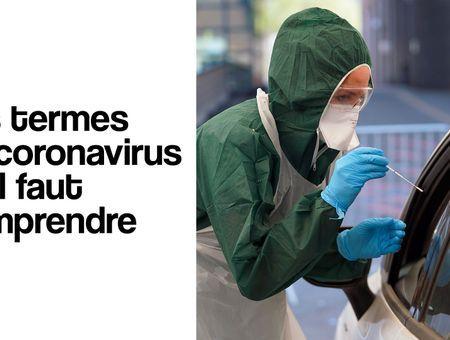 Les termes du coronavirus qu'il faut comprendre