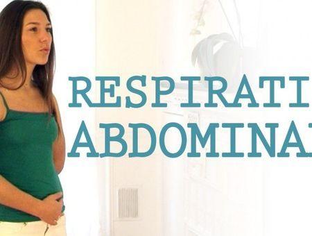 Respiration abdominale contre le stress