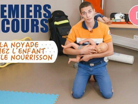 Noyade chez l'enfant ou le nourrisson : les premiers gestes de secours