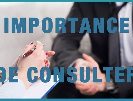 L'importance de consulter (Sylvain Mimoun)