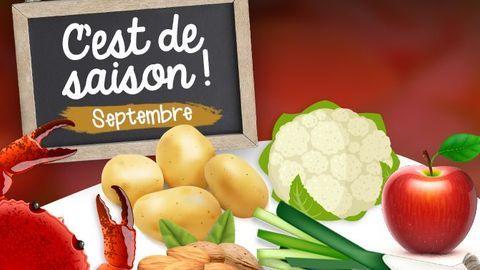 cuisine de saison septembre