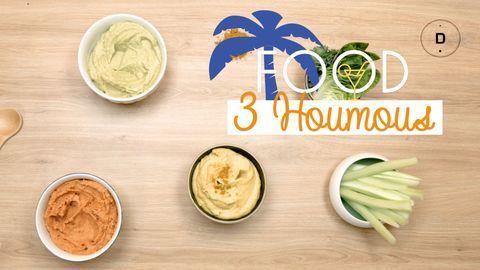 Houmous : 3 recettes originales
