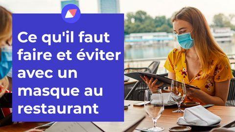 restaurant masque obligatoire