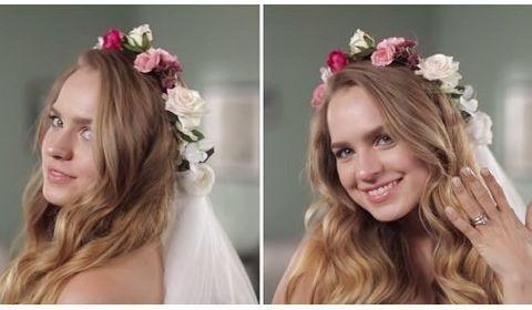 une youtubeuse reproduit 60 ans de coiffures de mariage en 2