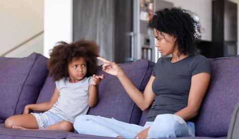 Réagir face aux mots blessants d'un enfant