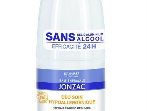 Un déodorant Jonzac - Mon vanity pour l'été