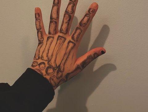 Tatouage squelette - 20 idées de tatouages pour sublimer vos mains