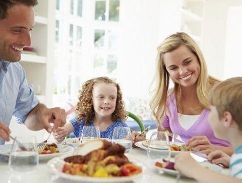Les bienfaits des repas en famille