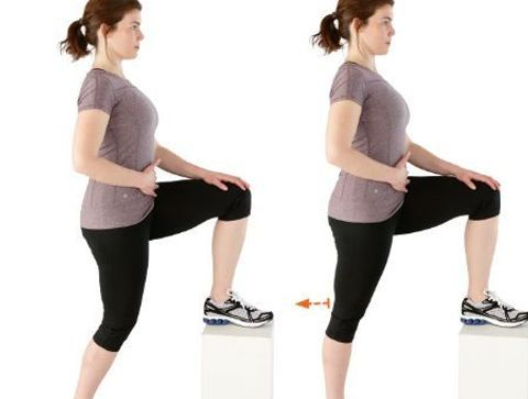 Extension active du genou sur banc - 10 exercices qui soignent