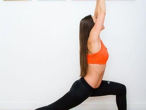La posture du Guerrier 1 - Yoga débutant : les postures les plus faciles