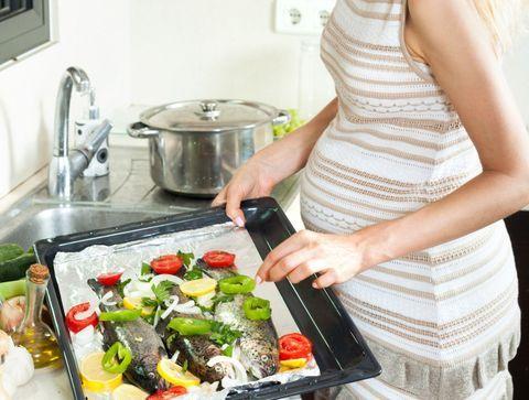 Le poisson pendant la grossesse